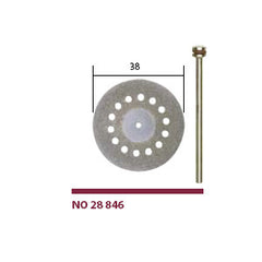 Diamond Cutting Disc w/cooling hole 38mm