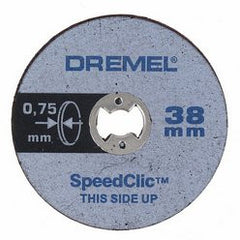 Dremel 409 EZ SpeedClic: Thin Cutting Wheels 5-Pack