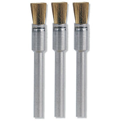 Dremel 537 Brass Brush ( set of 3 )