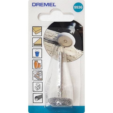 Dremel 9936 Structured Tooth Tungsten Carbide Cutter Wheel Shaped 19mm