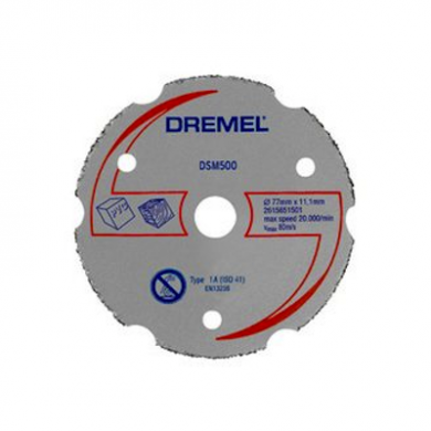 DREMEL DSM20 Multipurpose Carbide Cutting Wheel