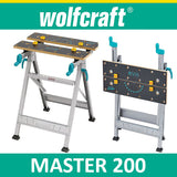 Wolfcraft MASTER 200 - working table