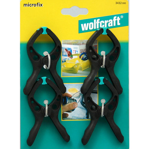 Wolfcraft Microfix Spring Clamps