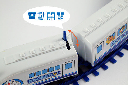 Doraemon Automatic Shinkansen Trains Toys w/ Railway Set