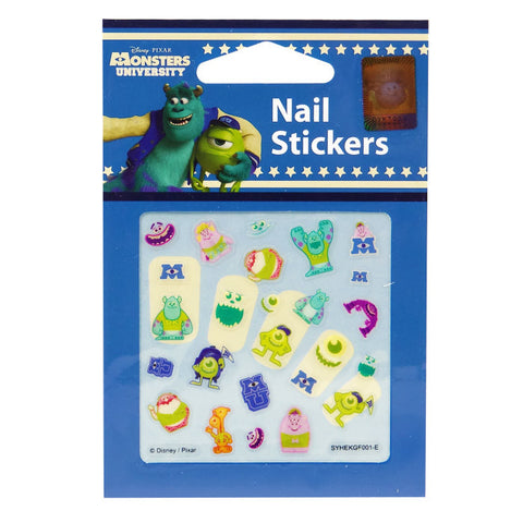 Disney Nail Stickers Monsters University