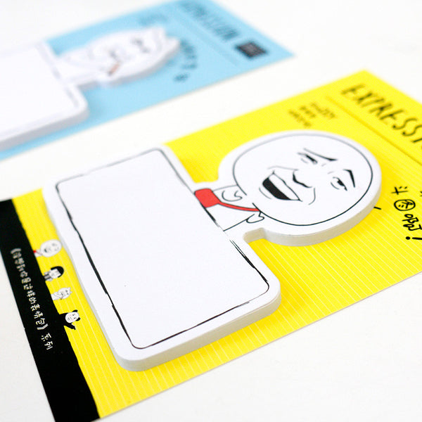 Fun Face Popular Creative Emoji MEMO Sticky Notes