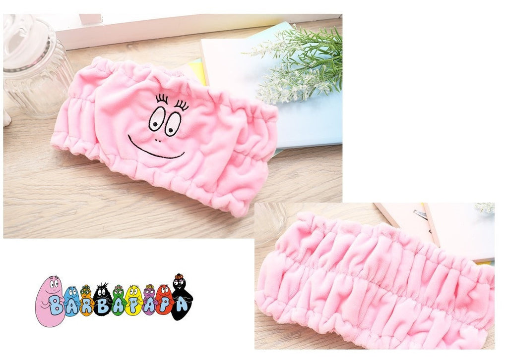 Licensed Barbapapa Make Up Wash Face Cosmetic Headband