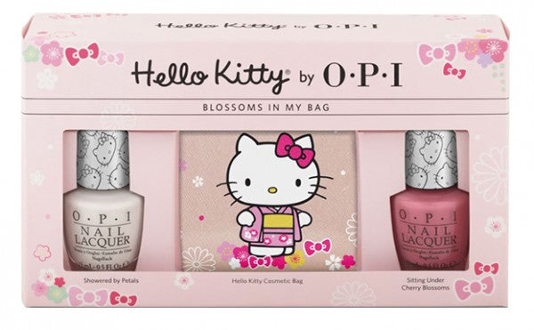 HELLO KITTY BY OPI BLOSSOMS IN MY BAG