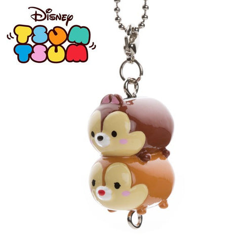 Disney Tsum Tsum Collection Chip'n'Dale Charms Keychain