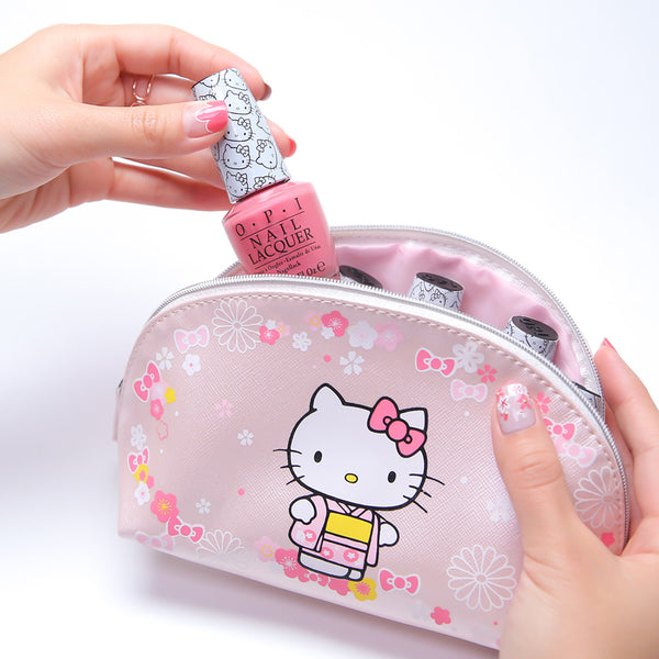 Hello Kitty by OPI Blossoms In My Bag (w Cosmetic Bag Gift Pack)