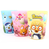 Made in Korea Pororo Cute Plastic Cups Set of 3 (180ml)