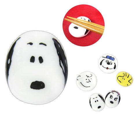 Peanuts Snoopy Japan Made Premium Ceramics Chopstick Rest