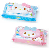 Hello Kitty Melody Wet Tissues Packets w/ Reusable Cover (Made in Japan)