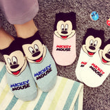 Made in Korea Disney Licensed Cute Mickey Mouse Short Socks