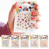 Cute Disney TSUM TSUM Nail Stickers