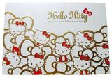 Hello Kitty Elegant Golden Shine Message Card (15x10.5cm)