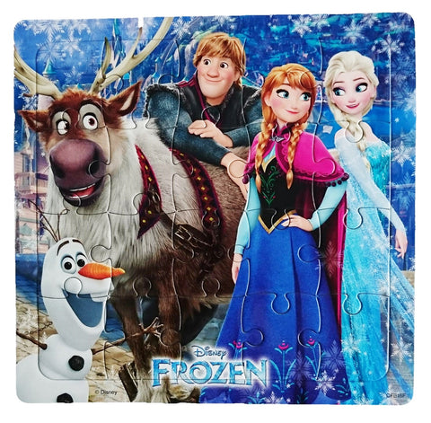 Disney Frozen Paper Puzzles for Kids