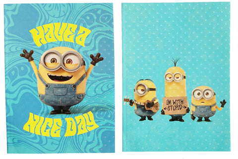 Despicable Me Minions 16K Notebook (24 pages)