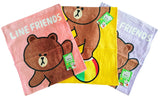 Line Friends 100% Cotton Face Hand Towel (27x54cm)