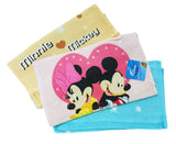 "Disney Mickey Mouse 100% Cotton Face Hand Towel (11""x20"")"