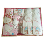 Hello Kitty Newborn Feeding Nursing Clothes Baby Shower Gift Hamper for Baby Girls