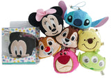 Disney Mickey Minnie Chip'n'Dale Winnie Stitch Alien Phone Dust Plugs Plush Charms