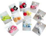 Disney Cute Head Butt Plush Mickey Minnie Winnie Toy Story Baymax Hair Bands