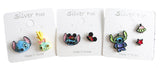 Disney Lilo & Stitch Stud Earrings Made in Korea
