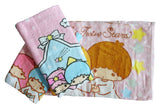 Made in Taiwan Sanrio Little Twins Star 100% Cotton Face Towel (27x54cm)