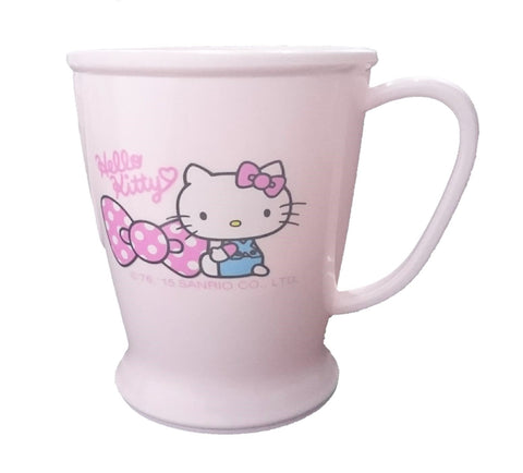 Sanrio Hello Kitty Plastic Cup Bathroom Mug