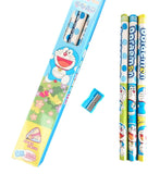 Doraemon Pencil+Sharpener Kids Stationery Gift Set