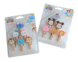 Disney Tsum Tsum Cute Wooden Clips Wall Decor Bookmarks