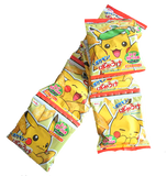 [INSTOCK] Japan Befco Pikachu Kids Rice Cracker Corn Flavor (4 PACKS)