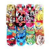 Disney Pixar Characters Cute Short Socks for Baby Boys (1-4 Yrs Old)