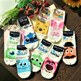 Made in Korea Disney Pixar Characters Short Ankle Socks (Size: 22~26cm)