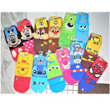 Disney & Marvel Licensed Cartoon Characters Low Cut Socks (Size: 22~26cm)