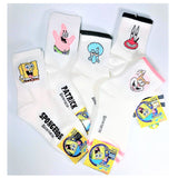 Made in Korea SpongeBob SquarePants Cute Fashion Ankle Socks (Adult)