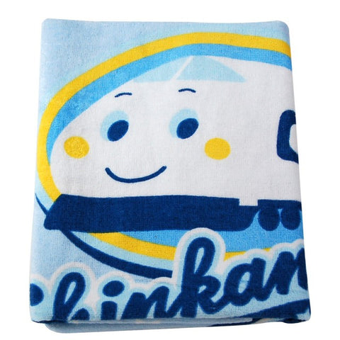 Made in Taiwan Sanrio Shinkansen 100% Cotton Large Bath Towel