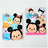 Disney TSUM TSUM 25k Notebook w Lined & Plain Pages
