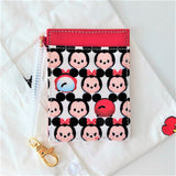 Disney TSUM TSUM Card Holder w Stretchable Spring & Snap Hook