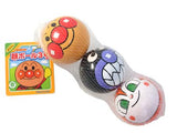 Japan Anpanman Face Print Small Soccer Balls Baby Kids Play Toys