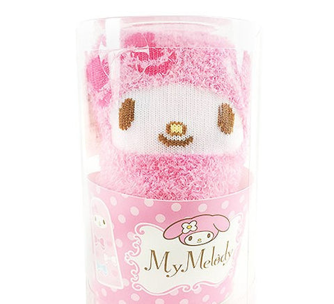 Japan Sanrio My Melody Winter Socks Cute Cupcake Gift Design