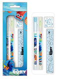 Disney Finding Dory Pencil Color Pencil Eraser Ruler Kids Stationery Gift Set