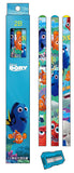 Disney Finding Dory Pencil+Sharpener Kids Stationery Gift Set