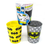 Korea DC Hero Batman Cute Plastic Cup Set of 3 (180ml)