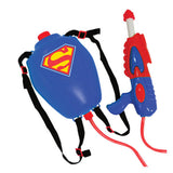 Korea DC Hero Superman Water Gun Backpack (Kids Outdoor Play Toy)