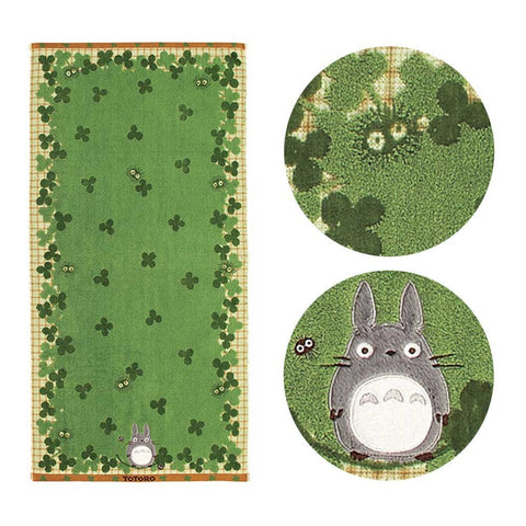 Japan Studio Ghibli My Neighbor Totoro Pocket Towel Bath Towel 100% Cotton