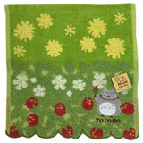 Japan Ghibli My Neighbor Totoro Pocket Face Hand Towel 100% Cotton