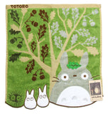 Japan Marushin Ghibli My Neighbor Totoro Face Mini Towel 100% Cotton