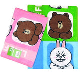 Line Friends Brown Cony Moon 100% Cotton Hand Face Towel (27x54 cm)